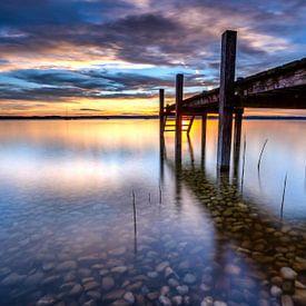 Starnberger See Sonnenuntergang von Einhorn Fotografie