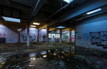 Verlassenes Gebäude (Niederlande) von Marcel Kerdijk