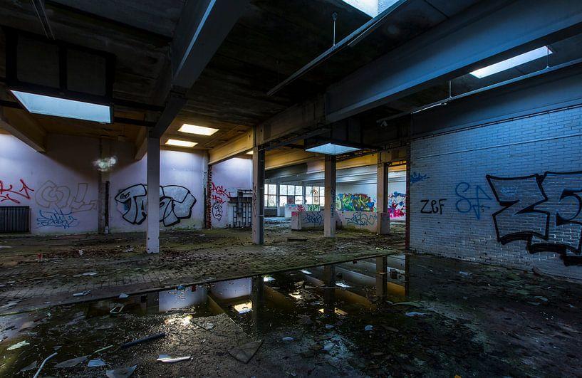 Bâtiment abandonné (Pays-Bas) sur Marcel Kerdijk