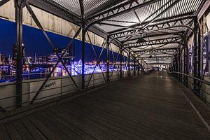 Hamburger Hafenpanorama sur Matthias Nolde