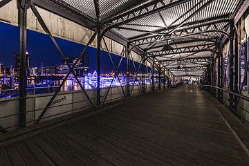 Hamburger Hafenpanorama von Matthias Nolde