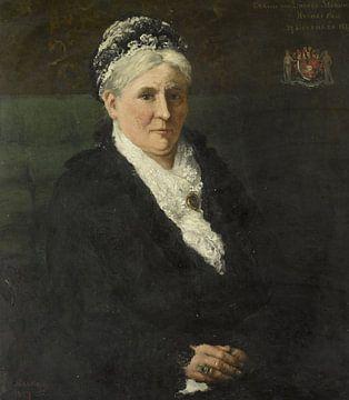 Maria Hermina Heemskerk (1827-1908). Ehefrau von Menno David Graf von Limburg Stirum, Hendrik Willem