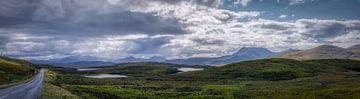 Irgendwo im schottischen Hochland mit ein wenig Regen von Mart Houtman