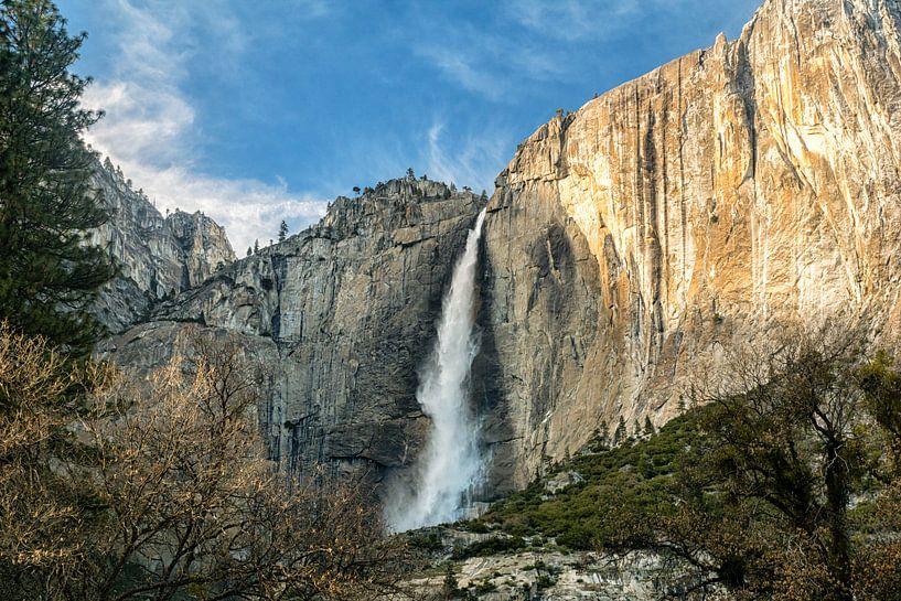 Upper Yosemite Fall van Jasper den Boer