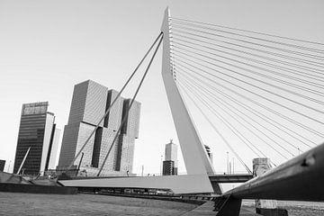 Erasmusbrug Rotterdam van Peter Hooijmeijer