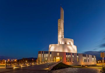 Noorderlichtkathedraal, Alta, Noorwegen van Adelheid Smitt