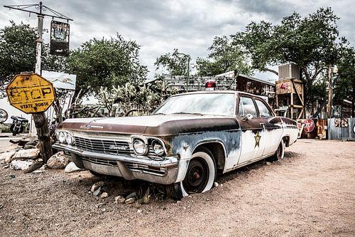 Oude Amerikaanse auto - Chevrolet van Els Broers