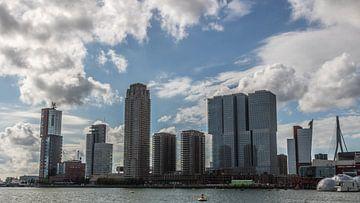 Skyline Kop van Zuid - Rotterdam von Lizanne van Spanje