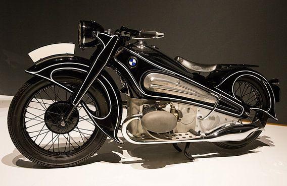 BMW Motorfiets van Ronald George