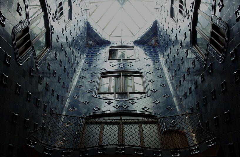 Casa Batlló van Gaudi in Barcelona van Jessica van den Heuvel