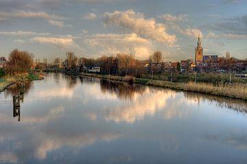 Oud Hollands Overschie / Rotterdam van Rob de Voogd / zzapback