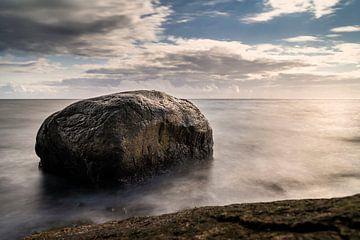 Fels in der Ostsee von Stephan Zaun