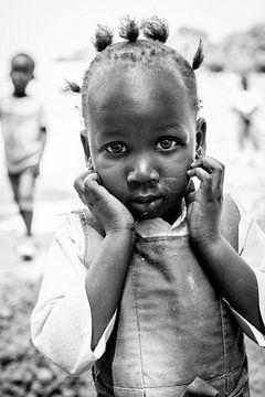 Portret Afrikaans meisje