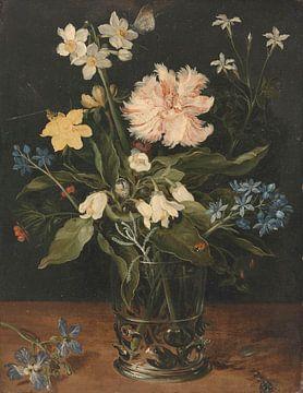 Stillleben mit Blumen in einer Vase - Jan Brueghel von Meesterlijcke Meesters