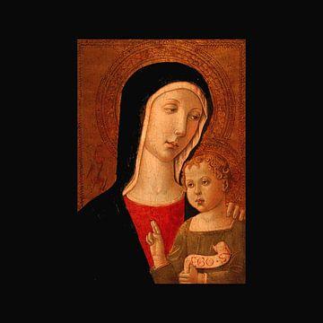madonna en kind - Virgin and child van lieve maréchal