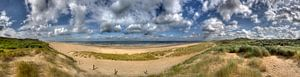 Panorama Hollandse kust van
