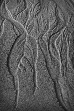 Patronen in het zand van Beeldpracht by Maaike