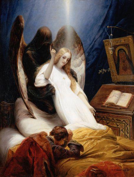 Engel van de Dood, Emile Jean-Horace Vernet... van The Masters