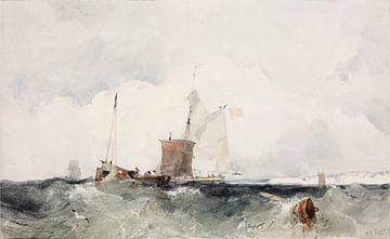 An der englischen Küste, Richard Parkes Bonington.