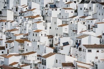 Weiße Häuser, Casares (Spanien) von Nick Hartemink