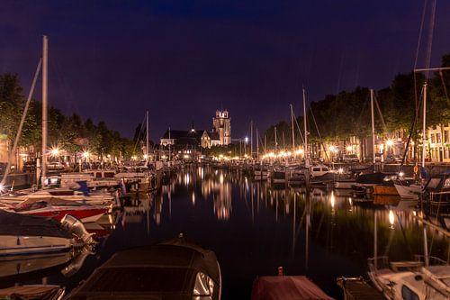 Dordrecht by night van