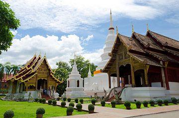 Tempels Chiang Mai van Olivier Van Acker