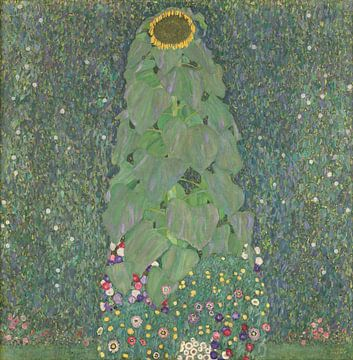 Zonnebloem, Gustav Klimt van
