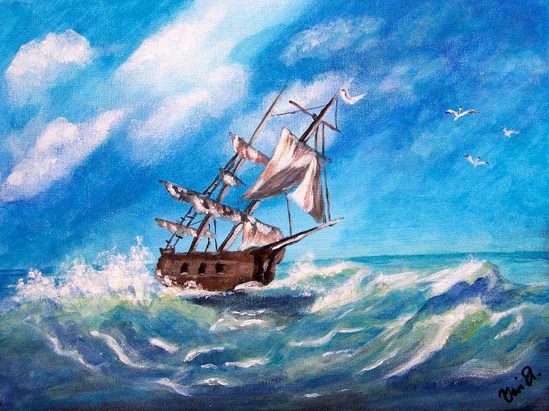 Seefahrt, seafaring von Vera Markgraf