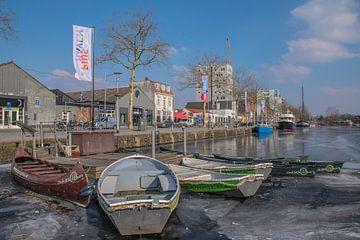 Winter in de Piushaven  van