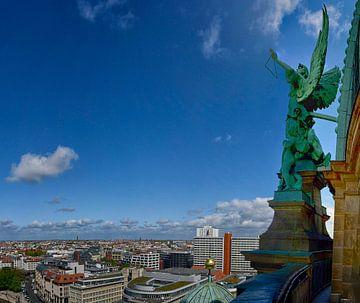 Panorama Berlijn vanaf de Dom van Peter Bartelings Photography