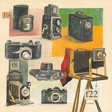 Cameras, Michael Clark van Wild Apple