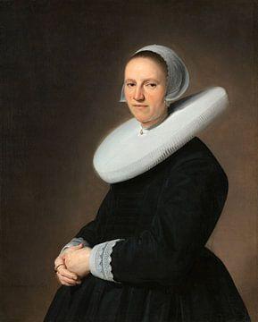 Porträt von Adriana Croes, Jan Verspronck