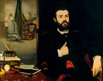 Porträt des Dichters Zacharie Astruc, Édouard Manet