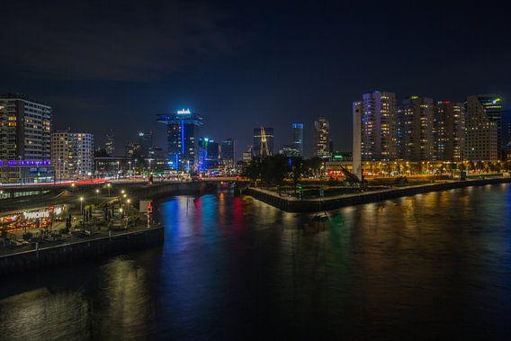 De Leuvehaven in Rotterdam van MS Fotografie
