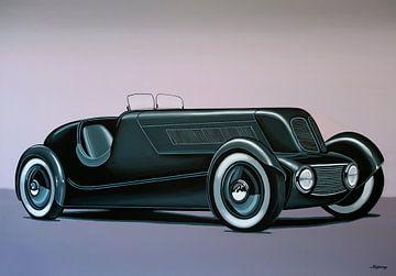 Edsel Ford Modell 40 Special Speedster 1934 Gemälde
