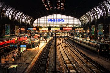 Hamburger Hauptbahnhof van Holger Debek