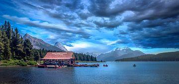 Maligne Lake sur Dennis Werkman