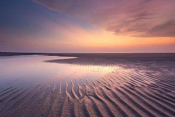 Rippen im bunten Sand - Natürliches Ameland von Anja Brouwer Fotografie