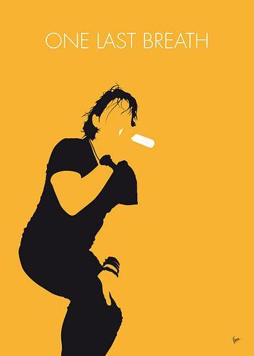 No184 MY Creed Minimal Music poster von