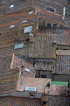 Daken van San Gimignano van