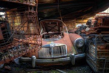 Der alte MG von Roman Robroek