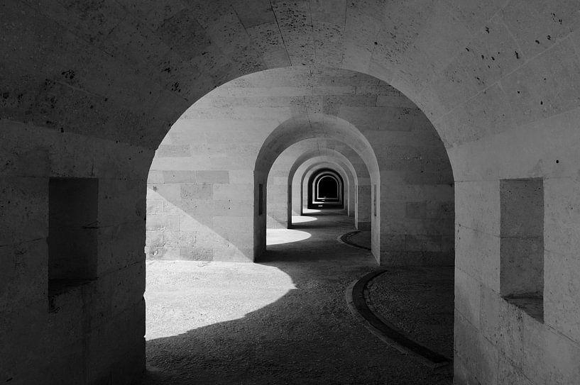 THE FORTRESS OF ISABEL II ON LA MOLA. van René Koert