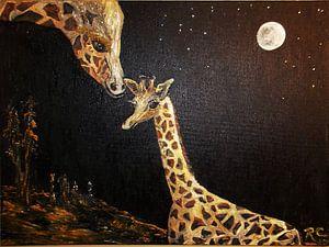 Giraffe Love van