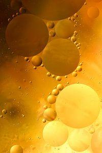 Cirkels in het water (druppels in olie) van