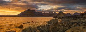 sunset on skye van Ilona Swinkels