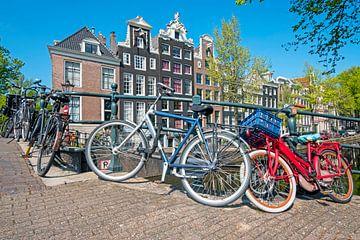 Stadsgezicht van Amsterdam aan de Keizersgracht van Nisangha Masselink