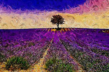 Lavande de Provence sur Peter Roder