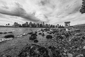Stadsgezicht van Vancouver van Eelke Brandsma
