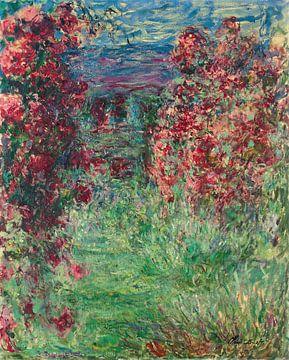 Das Haus in den Rosen, Claude Monet