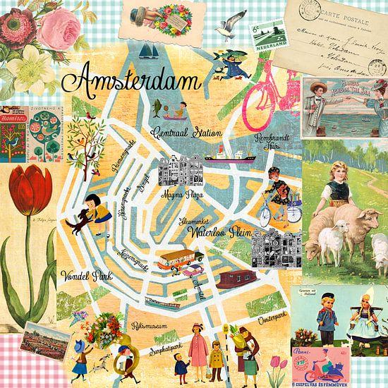 Amsterdam Collage